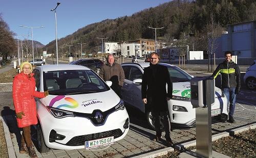 In einem Jahr 1,5 mal um die Erde – E-Carsharing in der Stadt Weiz