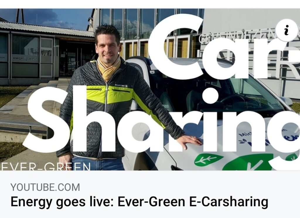 Energy goes live: Ever-Green E-Carsharing