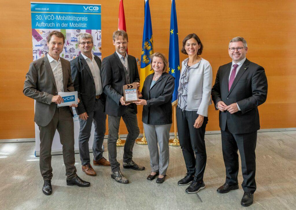 Mobilitätspreis Niederösterreich 2021 für Carsharing Österreich
